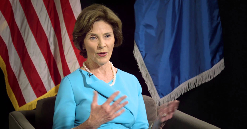 Laura Bush Outraged By U.S. Border Policy, A-OK With Hubby Destroying The Middle East