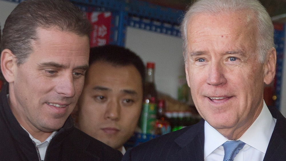 Image: FBI continuing to play the role of deep state guardian by covering for Joe and Hunter Biden in latest bid to harm Trump