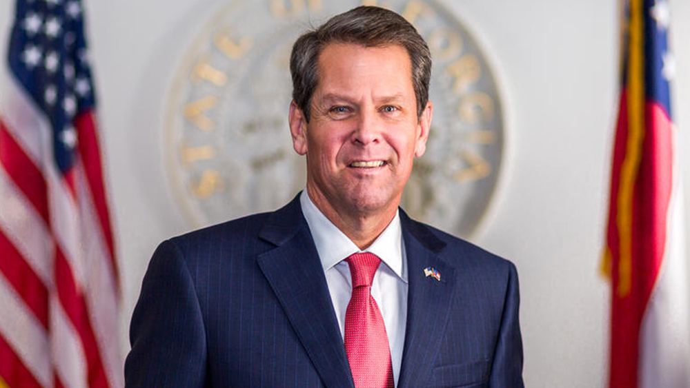 Image: TREASON: GA Gov. Kemp and CA Gov. Newsom bought off by communist China in covid supplies kickback and money laundering schemes – source